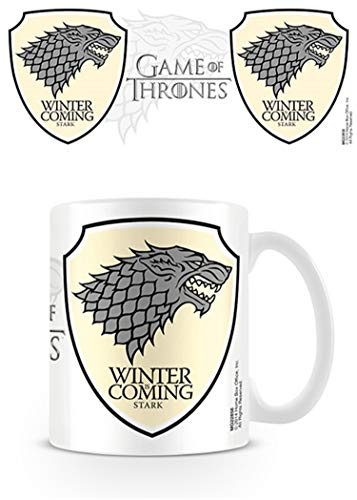 Game of Thrones Pyramid International (Stark) Official Boxed Ceramic Coffee/Tea Mug, Multi-Colour, 11 oz/315 ml from Game of Thrones