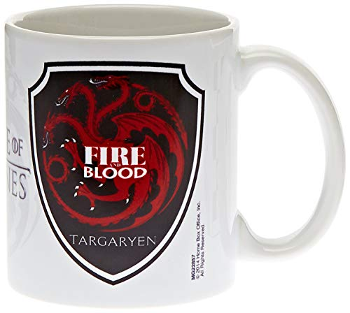 "Pyramid International ""Game of Thrones (Targaryen)"" Official Boxed Ceramic Coffee/Tea Mug, Multi-Colour, 11 oz/315 ml from Game of Thrones"