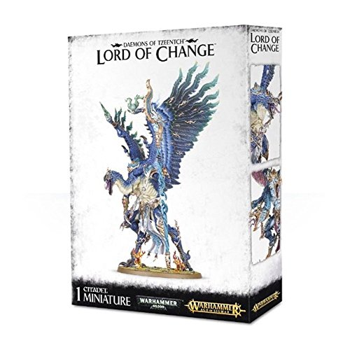 "Games Workshop 99129915028"" Daemons of Tzeentch: Lord of Change/Kairos Fate Weaver Action Figure from Games Workshop"