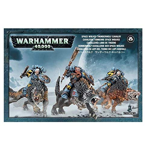 Games Workshop SPACE WOLVES THUNDERWOLF CAVALRY from Games Workshop