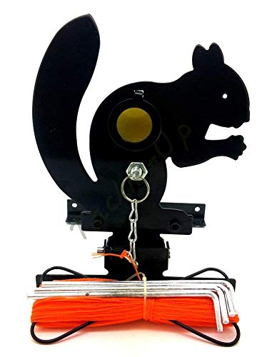 Gamo - Squirrel Field Target with pull up cord & 4 bullseye reducers - Interchangeable system for air rifles / pistol gun from Gamo
