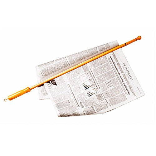 Garcia de Pou Newspaper Stick, 81 cm, Wood, Brown, One Size from Garcia de Pou
