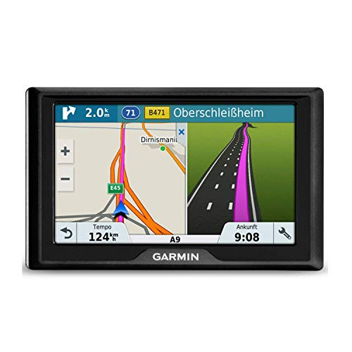 Garmin Drive 51LMT-S 5 Inch Sat Nav with Lifetime Map Updates for UK, Ireland and Full Europe and Free Live Traffic - Black from Garmin