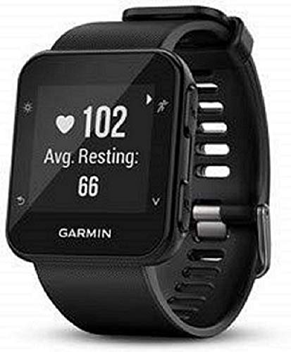 Garmin Forerunner 35 GPS Running Watch with Wrist-Based Heart Rate and Workouts - Black from Garmin