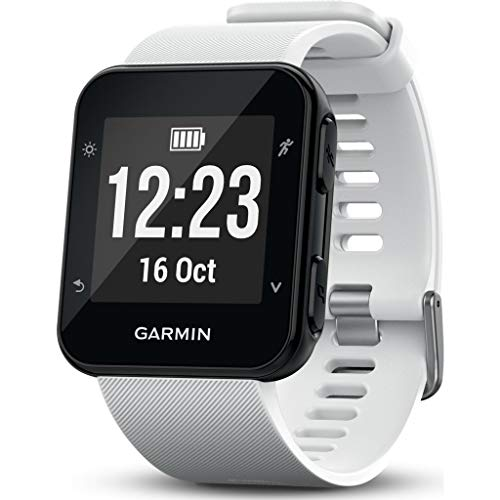 Garmin Forerunner 35 GPS Running Watch with Wrist-Based Heart Rate and Workouts - White from Garmin
