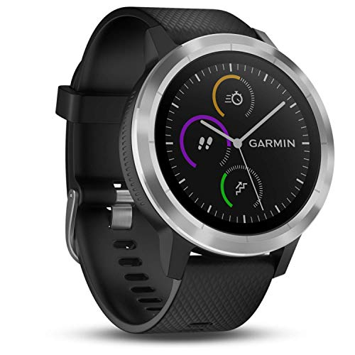 Garmin Vivoactive 3 GPS Smartwatch with Built-In Sports Apps and Wrist Heart Rate - Black from Garmin