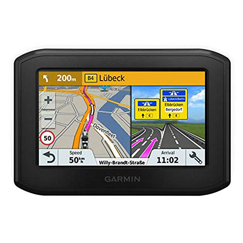 Garmin Zumo 346LMT-S Motorbike Satellite Navigation System with UK/Ireland/Western Europe Maps/Free Lifetime Map Updates and Bluetooth - Black from Garmin