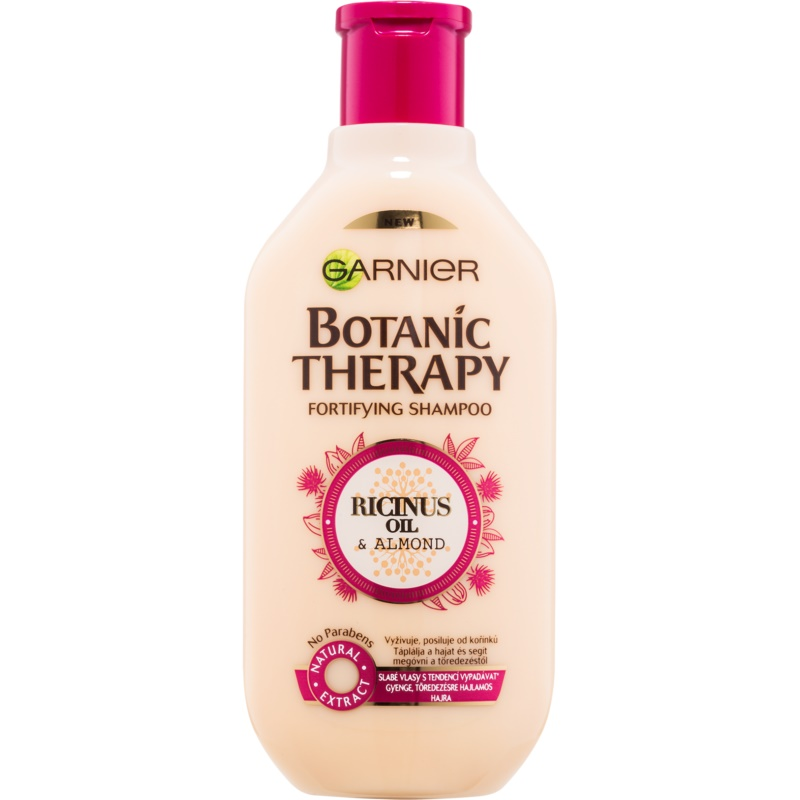 Garnier Botanic Therapy Ricinus Oil Fortifying Shampoo for Weak Hair Prone to Falling Out 400 ml from Garnier