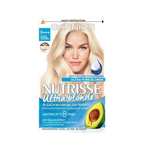 Garnier Nutrisse Ultra Blonde D+++ Bleach Maximum Lightener Permanent Hair Dye from Garnier