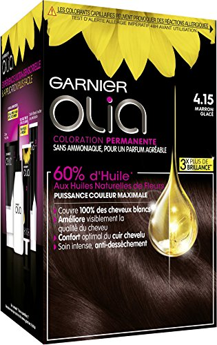 Garnier - Olia - Ammonia-free oil-based chestnut hair dye from Garnier