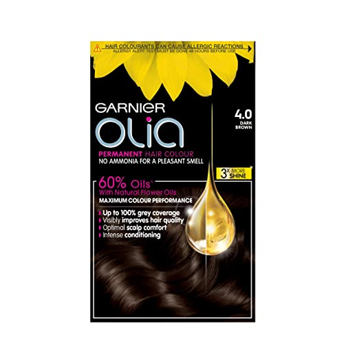 Garnier Olia Permanent 4.0 Dark Brown Hair Dye from Garnier