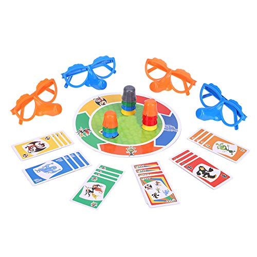 "Family Fun ""Liar"" Game Fibber Board Game Includes Funny Glasses and Cards Growing Nose Interesting Family Interactive Toys for Kids Adults from Garosa"
