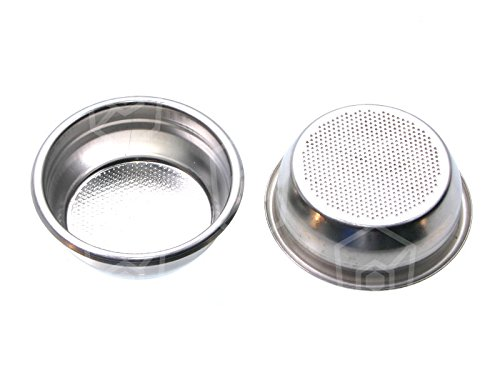 Coffee sieve for Espresso Maker Diameter 68 mm height 23,5 mm Mounting Diameter 60 mm for 2 Cups from Gastroteileshop