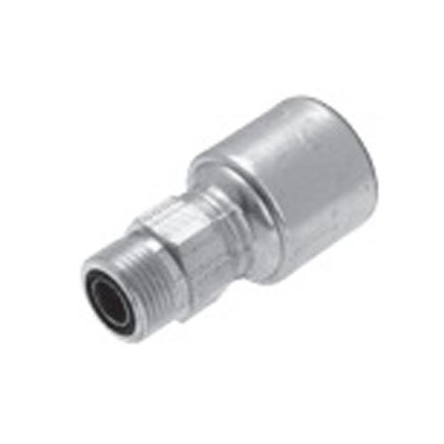 Gates Fluid Power 7104-1619-5 12G16MFFOR Megacrimp Sae Flat Face O-Ring Male- Straight from Gates Fluid Power