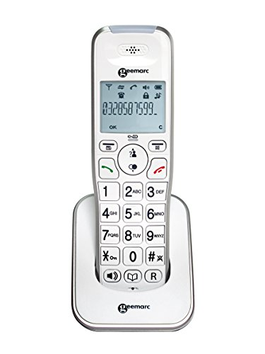 Additional Handset for Geemarc AmpliDECT295- Amplified Cordless Telephone with Integral Answering Machine - White - UK Version from Geemarc Telecom
