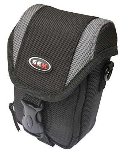 GEM Camera Case for Olympus Tough TG-5, with quick release belt loop and shoulder strap from Gem