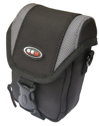 GEM Camera Case for Sony Cyber-shot DSC-W730, DSC-WX80, with quick release belt loop and shoulder strap from GEM