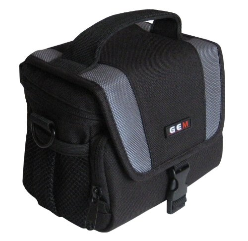 GEM Case for JVC GZ-EX515BEK Camcorder plus a Compact Camera/Accessories from GEM
