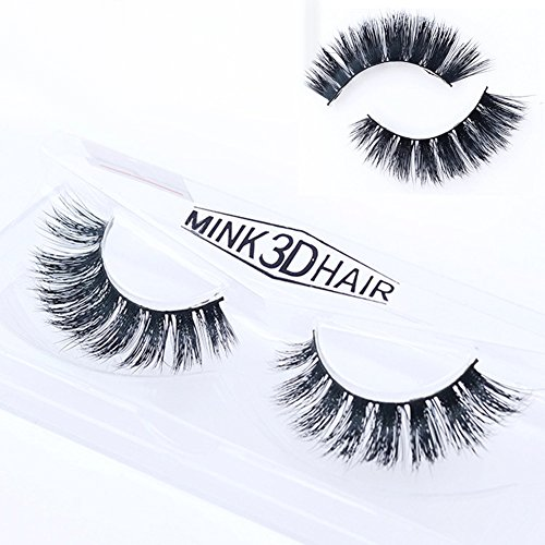 Gemini_mall® 3D Fake Eyelashes Natural Thick False Eye Lashes Makeup Extension (D013) from Gemini_mall
