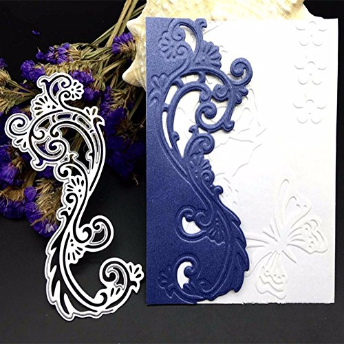 Gemini_mall DIY Cutting Dies Flower Metal Embossing Stencil For Album Scrapbooking Paper Card Art Craft (Lace Flower) from Gemini_mall