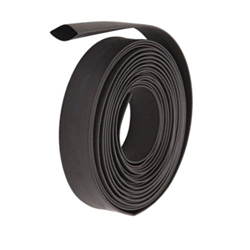 WILKINSON.SALES BLACK HEAT SHRINK ELECTRICAL TUBING WRAP SLEEVING CAR CABLE 2:1 RATIO HEATSHRINK 1.5, 2, 3, 5, 6, 10, 13, 20, 25 & 50mm DIAMETERS AVAILABLE (13mm (1 Meter)) from Generic/Unbranded