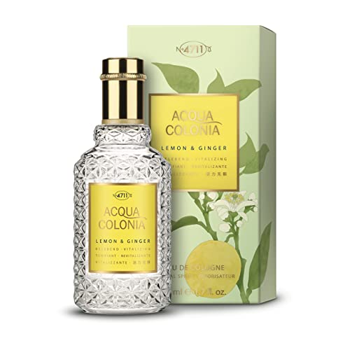 4711 Acqua Colonia Unisex Eau de Cologne Spray, Lemon and Ginger 50 ml from 4711