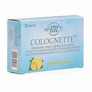 4711 - Colognette refreshing Lemon tissue 20 units pack of 6 from Generic