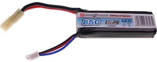 7.4v Airsoft LiPO Batteries (850mAh 30C Stick) from Vapextech