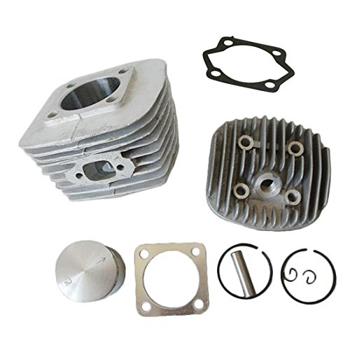 JRL 47mm Cylinder Head Set Fits 80cc Gas Motorized Bicycle Bike Engine from JRL