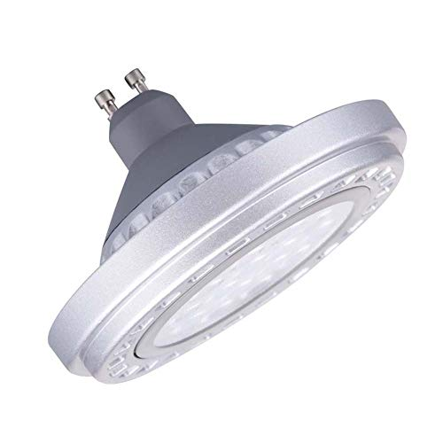 Generic Led Dimmable GU10 AR111 Bulb Spotlight 15W 30°Beam View Angle Cool Light 6000k-6500k SMD 15LEDs AC175-265V Spot Reflector Lights 1200Lm from Generic