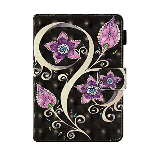 JIan Ying Case for Amazon Kindle Paperwhite 1/2/3/4 Fashion Patterns Protector Cover Peacock flower from Generic