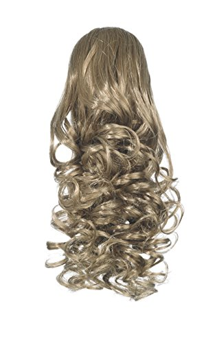Love Hair Extensions Curly Crocodile Clip Synthetic Hair Ponytail Colour 8 Mousey Brown 12 -Inch from Unknown