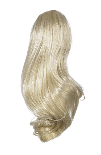 Love Hair Extensions Percilla Crocodile Clip Synthetic Hair Ponytail Colour 27 Rich Blonde 16 -inch from Unknown
