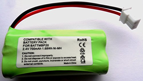 MOTOROLA BABY MONITOR MBP161 MBP161 TIMER COMPATIBLE BATTERY 2.4V from Generic