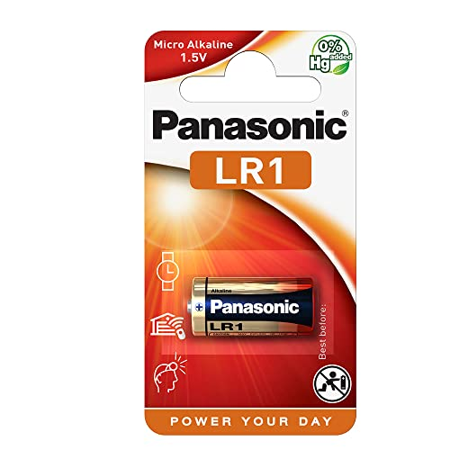 Panasonic LR1 MN9100 1.5 Volt Alkaline Battery from Panasonic