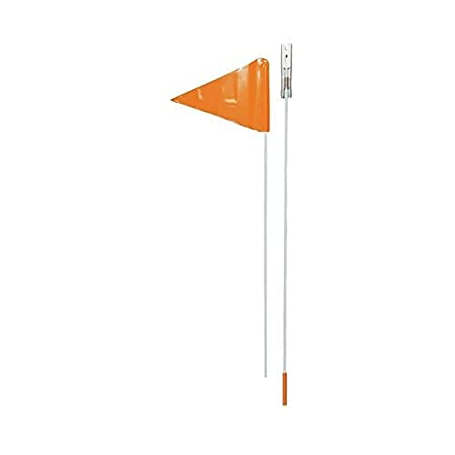 Point Childs Bike Safety Flag 2 Piece Siwi 800 – 180 cm (Streamer + Pole) Bright Orange, 13601200 from Unknown