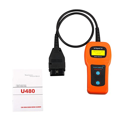U480 OBD2 Obdii Eobd Can-Bus Auto Scanner Engine Code Reader Diagnostic Tool from Generic