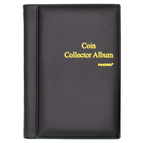 AKORD Coin Collectors Collecting Album 120 Coin Holders from AKORD