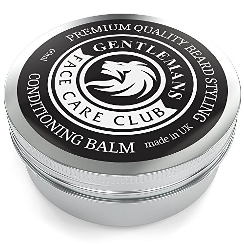 Beard Balm - Premium Quality Conditioning Butter For Creating Beard Styles, Goatees, Sideburns + Moustaches – Extra Large 60ml Tub - Improve Growth, Shine And Add Texture To All Beards - 100% Money Back Satisfaction Guaranteed from Gentlemans Face Care Club