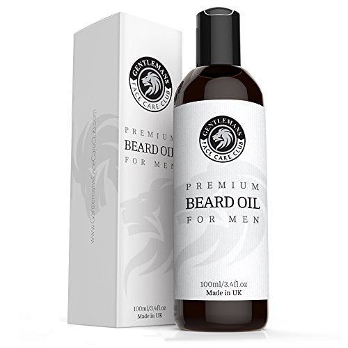 Beard Oil 100ml - Extra Large Bottle - Premium Beard Conditioning Oil For Men from Gentlemans Face Care Club