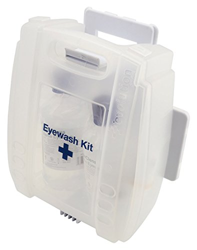Genware NEV-EWKIT Eye Wash Kit, Includes 2 Numbers x 500 mL from Genware