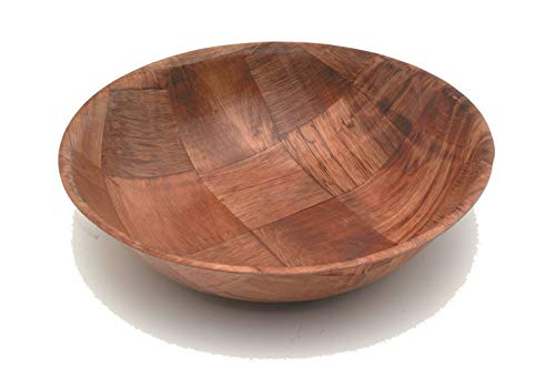 "Genware NEV-GC112 Woven Bowls, Wood, 10"", Diameter from Genware"
