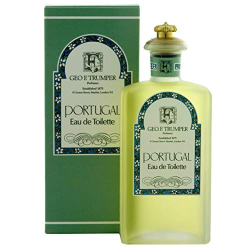 Geo F.Trumper Eau de Portugal Cologne Glass Crown Topped Bottle 100ml from Geo F. Trumper