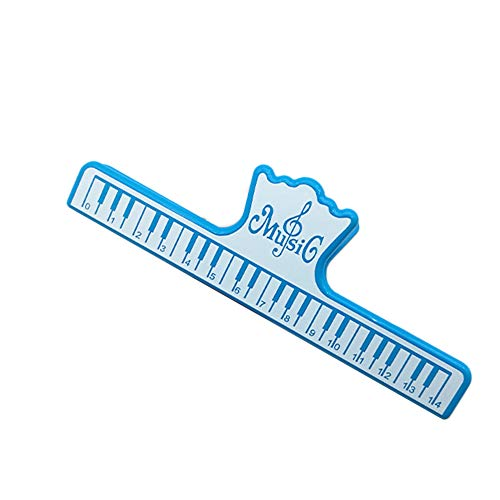 Fashion Piano Music Clip Notes Stationery Files Archive Folder Instrumental Tool - Blue Geshiglobal from Geshiglobal