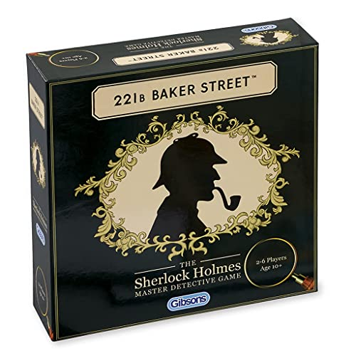 221B Baker Street Game from Gibsons Games
