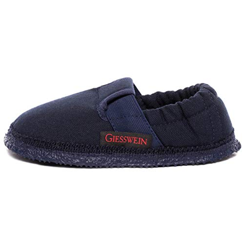 Giesswein Aichach, Unisex Kids' Low-Top Slippers, Blue (Ocean 588), 10 UK (28 EU) from Giesswein