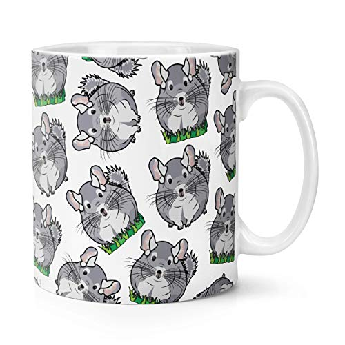 Chinchilla Pattern 10oz Mug Cup from Gift Base