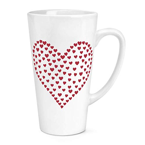 Heart of Hearts 17oz Large Latte Mug Cup from Gift Base