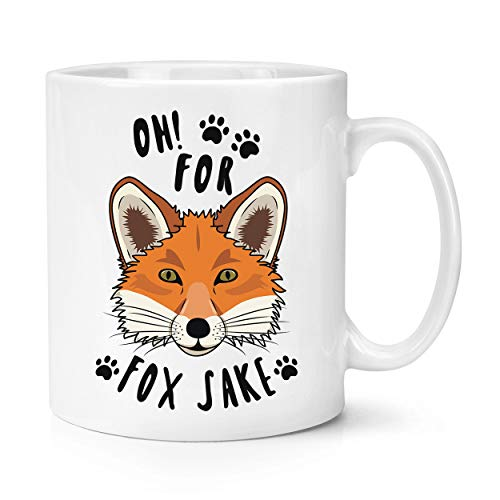 Oh for Fox Sake 10oz Mug Cup from Gift Base