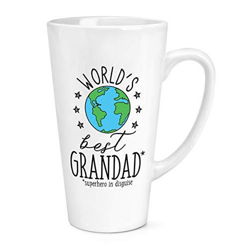 World's Best Grandad 17oz Large Latte Mug Cup from Gift Base
